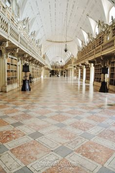 Biblioteca do Palácio Nacional de Mafra (Mafra National Palace Library) (5)