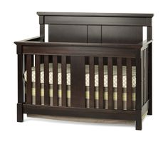The Bradford Convertible Crib features all wood construction, non-toxic finish, 2 position strong metal mattress support system and all the features you have come to expect from a Child Craft crib. Cr
