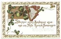 Early 1900s St. Patrick's Day Postcard