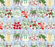 preserves fabric by karinka on Spoonflower - custom fabric