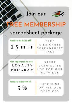 We design spreadsheet tools (i.e. trackers planners, quote, invoice, inventory systems) in Google sheets or Microsoft excel - Join our membership for free - we only require your email and name to signup and start earning benefits from the moment of signup. #msexcel #excel #ess #excelspreadsheetsupport #membership #spreadsheet Microsoft Excel, Planners, Join, Packaging, Quote, Content, Tools, Free, Design