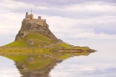 picture of lindisfarne - Lindisfarne Castle in Holy Island harbour Northumberland UK - JPG Yorkshire England, North Yorkshire, Celtic Christianity, North East England, England And Scotland, Pilgrimage, Tower Bridge, Adventure Time, Monument Valley
