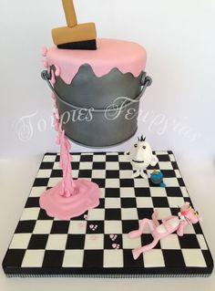 La panthère rose fait un gravity cake et on adore !