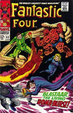 Fantastic Four 63 - Stan Lee and Jack Kirby