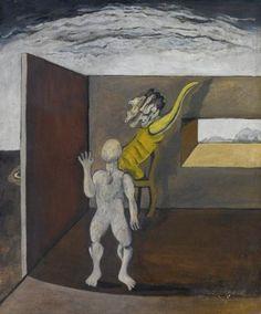 Composition surréaliste by Victor Brauner Victor Brauner, Art Database, Global Art, Fantastic Art, Art Market, Modern Art, Pop Art, Composition, Art Gallery
