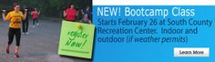 Join our NEW Bootcamp Class at South County Recreation Center!