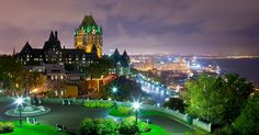 Quebec City is the capital of the Canadian province of  Quebec  and is located within the Capitale-Nationale region. It is the second largest city in the province, after  Montreal . Quebec City is about 233 kilometers (145 mi) away from Montreal. The ramparts surrounding Old Quebec (Vieux-Qu&eacu...