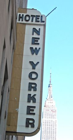 New Yorker Hotel  ::: Where Tesla resided for many years and died here, too.
