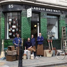 There's a very special shopping experience in East London (and online!) that you should know about – find out why we love Labour & Wait here: http://www.thesimplethings.com/shop-love-labour-and-wait/