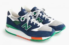 http://SneakersCartel.com J.Crew x New Balance 998 'Toucan' #sneakers #shoes #kicks #jordan #lebron #nba #nike #adidas #reebok #airjordan #sneakerhead #fashion #sneakerscartel