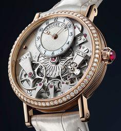 Breguet Tradition Dame 7038 Rose Gold — Женские часы Бреге