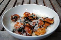 Gluten Free Pumpkin Gnocchi with Sage-Brown Butter Sauce #glutenfree