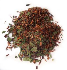 Fellini's Folly: #organic #tisane #herbal #tea #antioxidant Mint leaves and rooibos come together in a   fabulously smooth and refreshing infusion.   Try this with a shot of honey when you have   a cold!