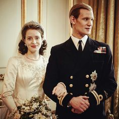 The Crown Claire Foy Matt Smith