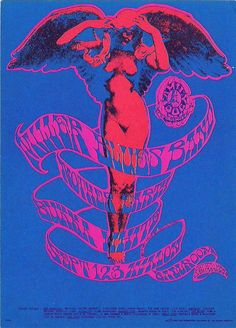 Art by Rick Griffin - concert poster
