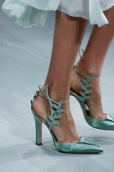 manolo blahnik for zac Posen, I'm not a high heel wearer but these are beautiful.