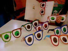 Παγκόσμια ημέρα παιδικού βιβλίου-Σελιδοδείκτες γυαλιά οράσεως!
