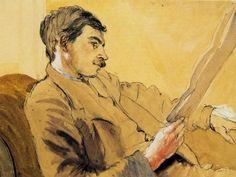 Maynard Keynes by Gwen Raverat