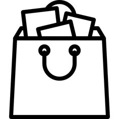 Shopping Bag free vector icons designed by Darius Dan Free icons Vector icon design Instagram highlight icons