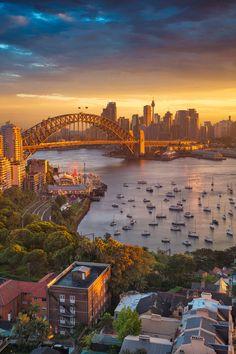 #Sydney at sunset