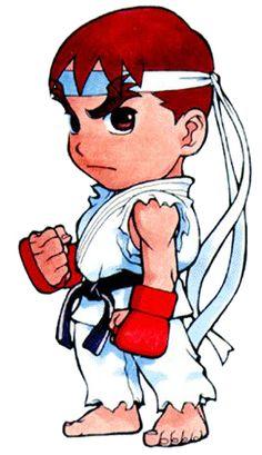 pocket fighter ryu 01