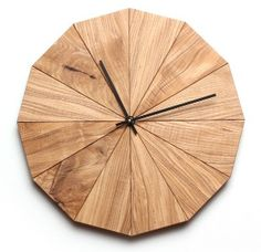 This beautiful wall clock was crafted by Chicago-based Rebuilding Exchange, a company that diverts interesting materials from landfills and repurposes them as well as makes them available to others.