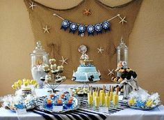 baby shower boat theme