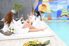 Endulge in some 'you' time with your girlfriends at the Majestic Spa