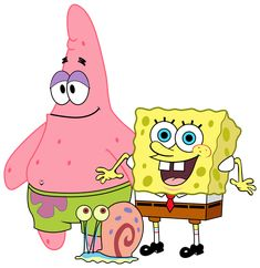 SpongeBob and Friends PNG Clipart Image