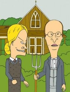 beavis-and-butthead-in-american-gothic
