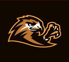 Sports Decals, Sports Logos, Mascot Design, Logo Design, Graphic Design, Hawk Logo, Falcon Logo, Bird Logos, Animal Logo