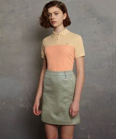color blocking in pastels
