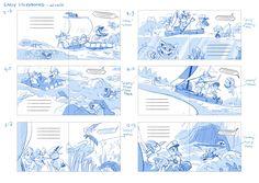 Row, Kiwi, Row Your Boat! Songbook Book Illustrations, Children's Book Illustration, Children Books, Book Layout, Storyboard, Kiwi, Spreads, The Row, Digital Art
