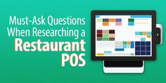 If you're researching a restaurant POS, you need to ask yourself these seven questions to ensure you're picking the right one. Retail Technology, Pos, Research, Restaurant, This Or That Questions, Search, Restaurants, Exploring, Supper Club