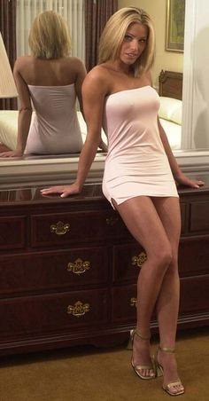 Hot milf minidress
