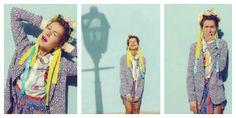 Стилист и блогер, невероятная и позитивно-яркая Natalie Joos Рубашка, пиджак – все POUSTOVIT  Fashion stylist and blogger, incredible and positively bright Natalie Joos Shirt, jacket - both POUSTOVIT
