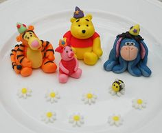 Winnie the Pooh and co.