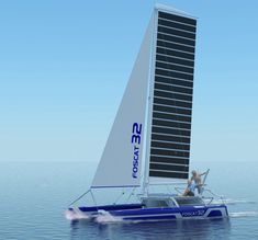 Folding FOSCAT32 catamaran makes the most of wind and solar | Inhabitat - Green Design, Innovation, Architecture, Green Building