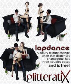 GLITTERATI X - Lapdance - FREE!