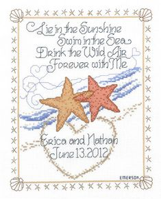 Cross Stitch Starfish  Stanley the Tribal Starfish is just one of our many monochrome designs.  This chart can be stitched on any count with...
