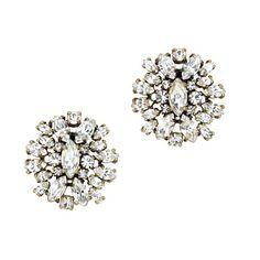 J.Crew - Crystal shimmer earrings