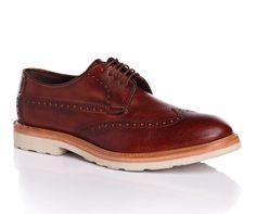 c8294e58579d7 BOSS Orange Chaussures à lacets Urdes en cuir Marron foncé - Chaussures  Homme Hugo Boss