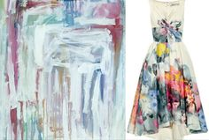 Gorgeous abstract print    http://www.net-a-porter.com/am/product/190314?cm_mmc=LinkshareUS-_-ProductFeed-_-Lela_Rose-_-Dresses&siteID=J84DHJLQkR4-FlvAzoz6snemsn8QbDlMcA