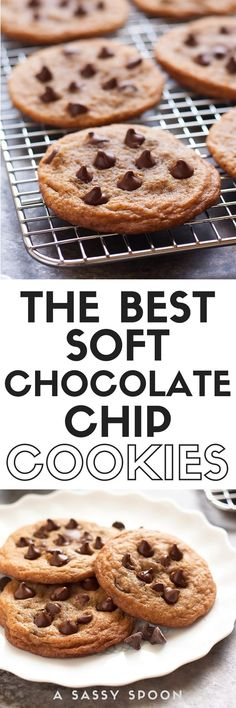 Soft, chewy, rich, and delicious chocolate chip cookies. Everyone has a favorite chocolate chip cookie recipe. This one is mine and it's the BEST!