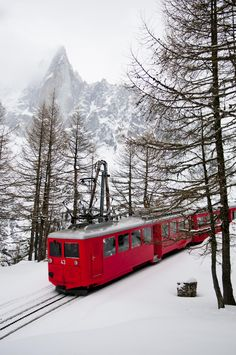 Little Red Train of Montenvers, Chamonix, France