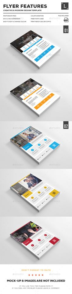 Buy Corporate Flyer bundle by UXcred on GraphicRiver. FEATURES: Easy customizable and editable 300 DPI CMYK Print Ready! x with bleed settings) L. Psd Flyer Templates, Business Flyer Templates, Business Card Design, Creative Flyers, Creative Design, Modern Design, Print Design, Web Design, Graphic Design