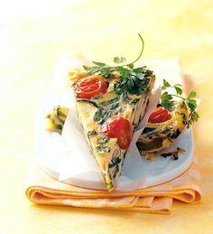 Zucchini-Tortilla - [ESSEN UND TRINKEN]