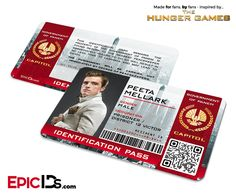 This item can be personalized with your own photo and/or text! View the 'Personalized' version of this Epic ID! PANEM TODAY, PANEM TOMORROW, PANEM FOREVER! Don't get caught roaming the capitol without