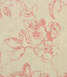Delphine Fabric / Rose