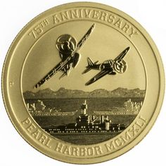 2016 P 15 Pearl Harbor Perth Mint 1 10 oz 9999 Gold Coin Gold Coins For Sale, Gold And Silver Coins, Gold Bullion Bars, Bullion Coins, Silver Investing, Mint Coins, Dollar Coin, Pearl Harbor, Coin Collecting